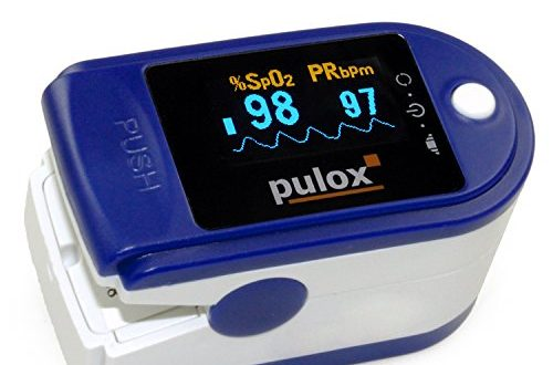 Pulsoximeter PULOX PO 200 mit LED Anzeige inkl. Zubehoer 500x330 - Pulsoximeter PULOX PO-200 mit LED-Anzeige inkl. Zubehör